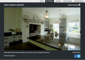 Hill Farm Furniture featured on Channel 4's Building The Dream